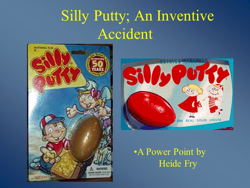 how was silly putty invented