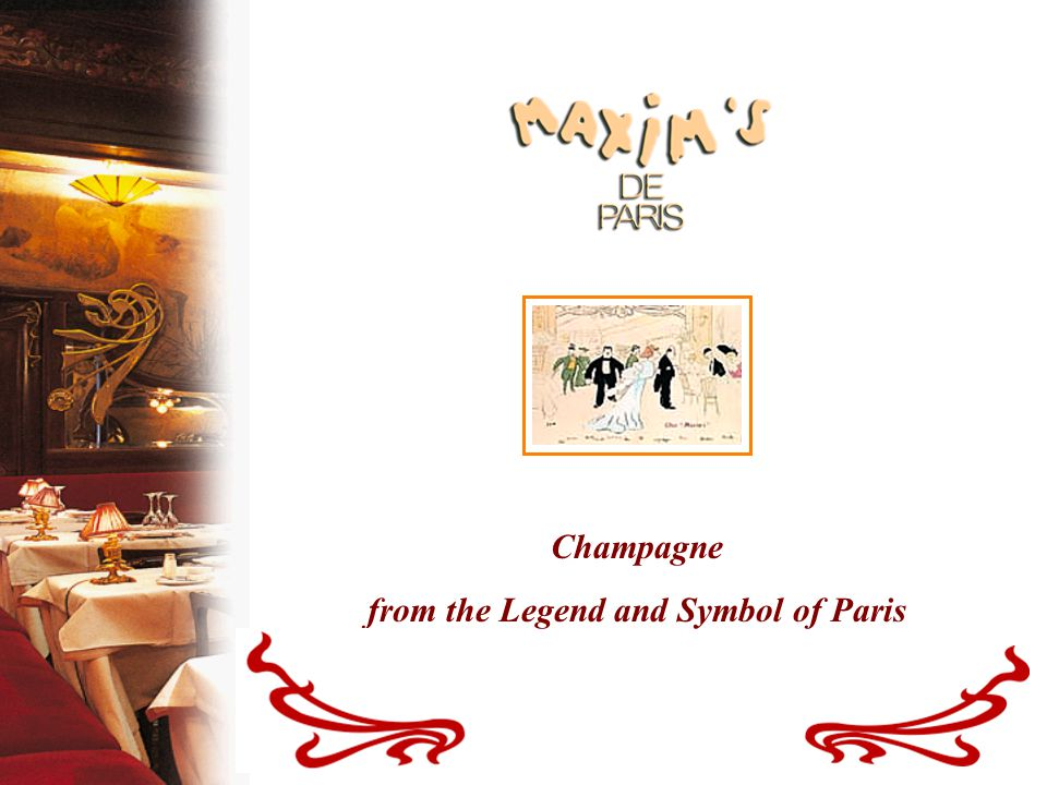 Champagne From The Legend And Symbol Of Paris A Legendary