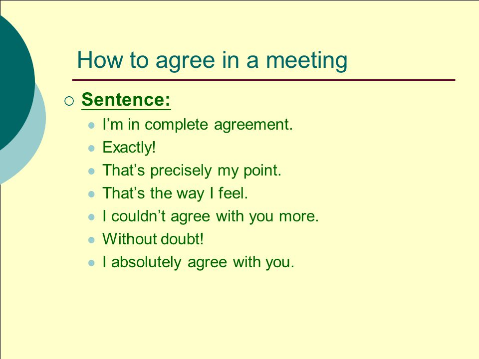 Useful Expressions For Meeting Negotiation Group 1 Tiffanytina