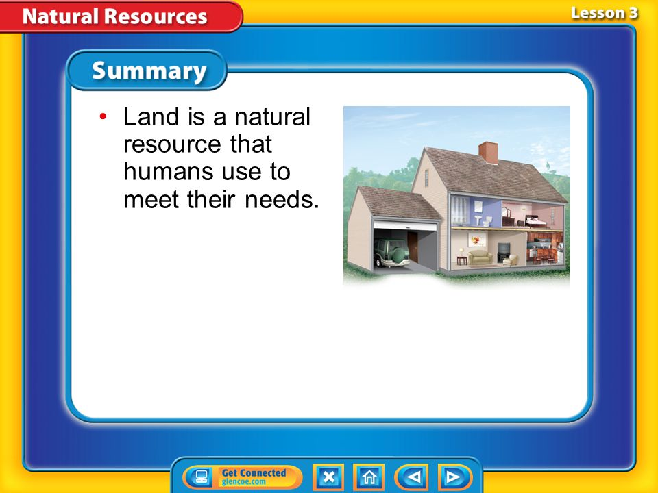 Lesson 3-4 Managing Land Resources (cont.) What can you do to help manage land resources wisely
