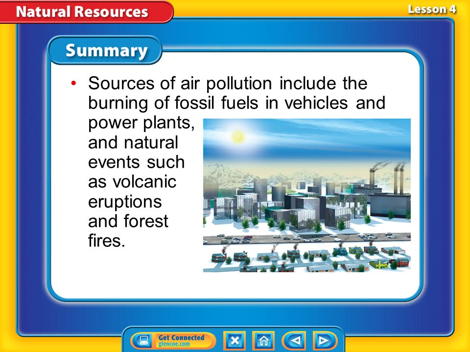 Lesson 4-2 How can individuals help manage air and water resources wisely.