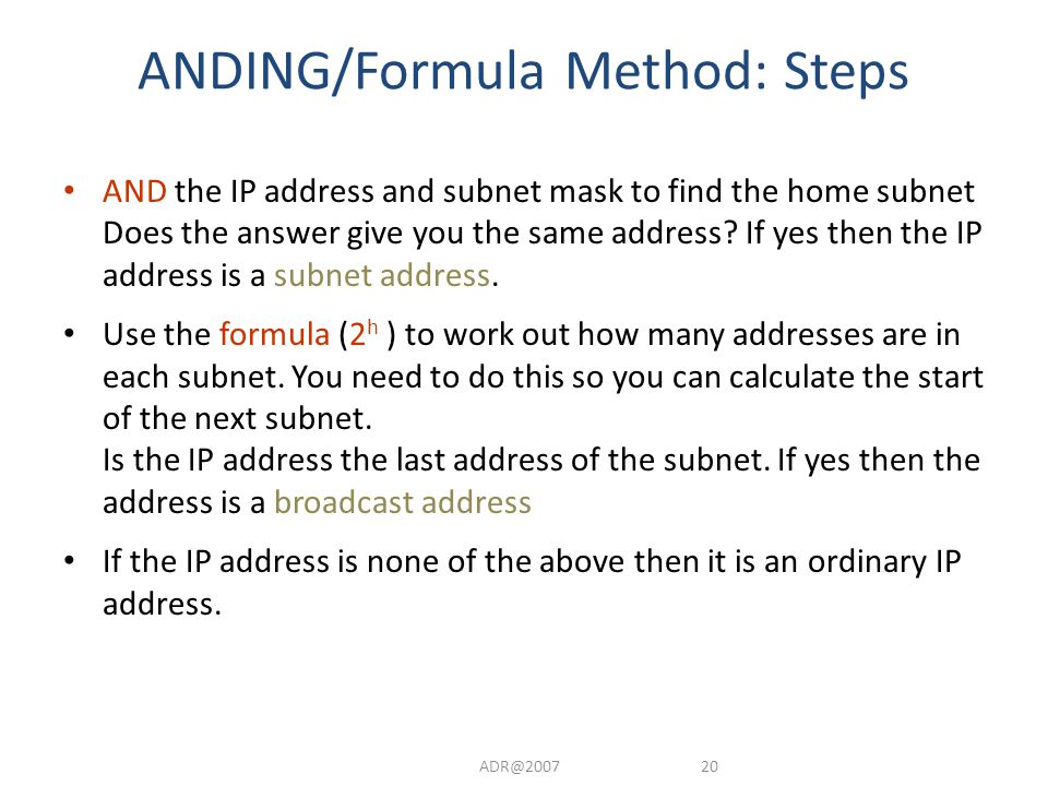 Techniques for Solving Subnetting Questions Common questions