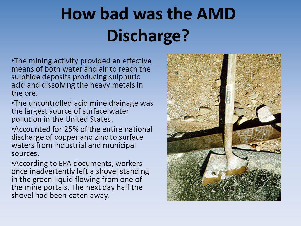 why is acid mine drainage bad