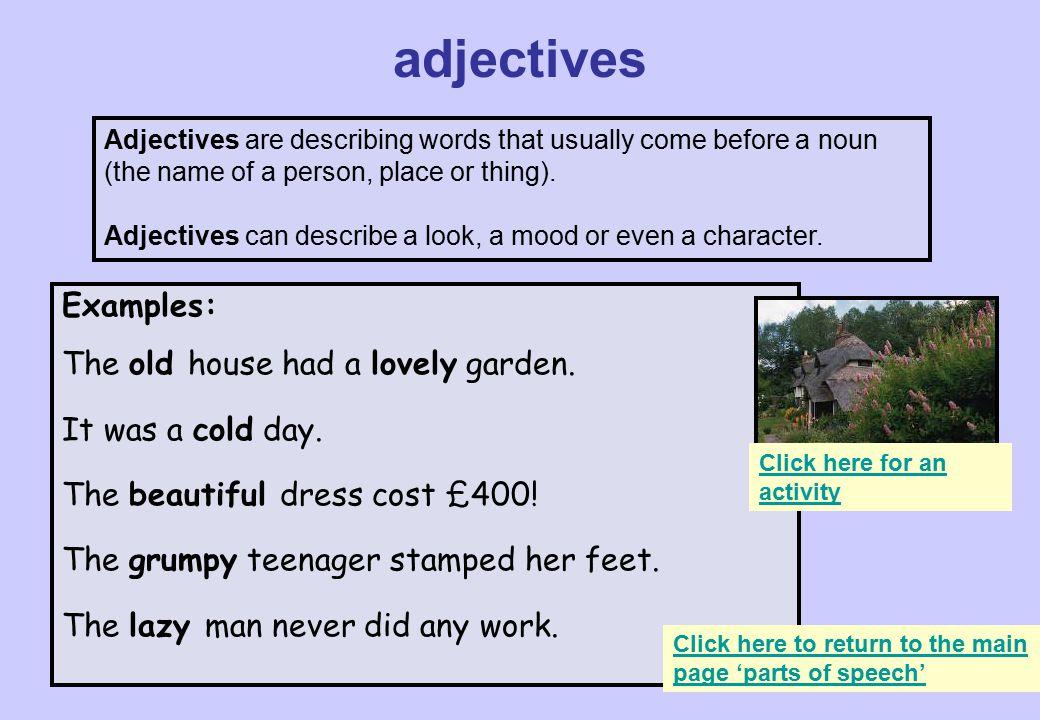Words To Describe A Garden 3 Adjectives