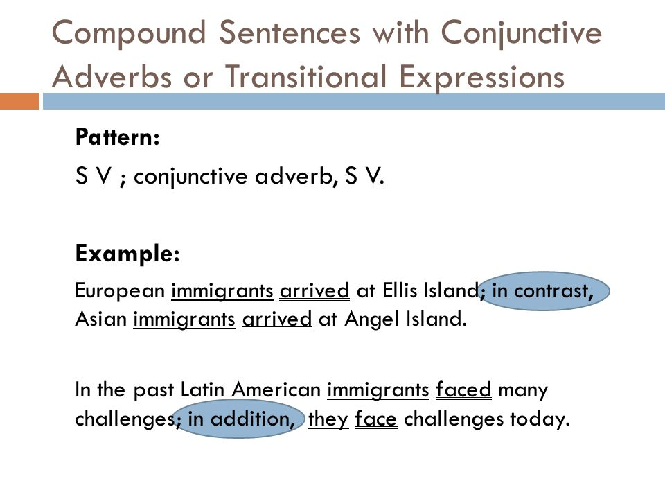 Compound Sentences Compound Sentences Combine Independent Clauses