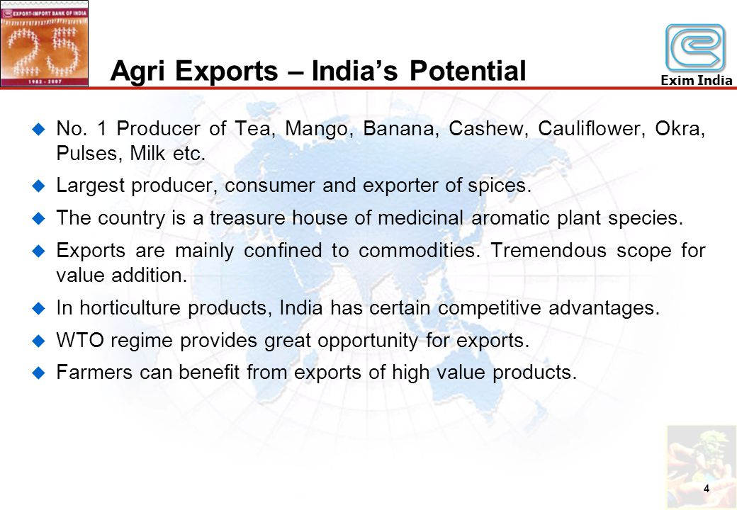 Creating Viable Export Agriculture Through Integrated