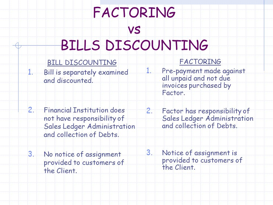 FACTORING AND FORFAITING  Factoring is of recent origin in