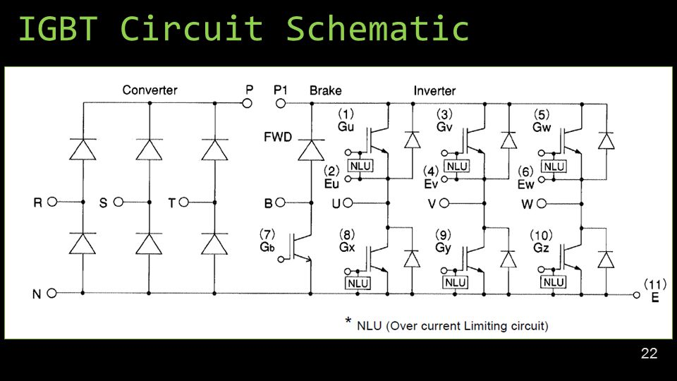 IGBT Circuit Schematic 22