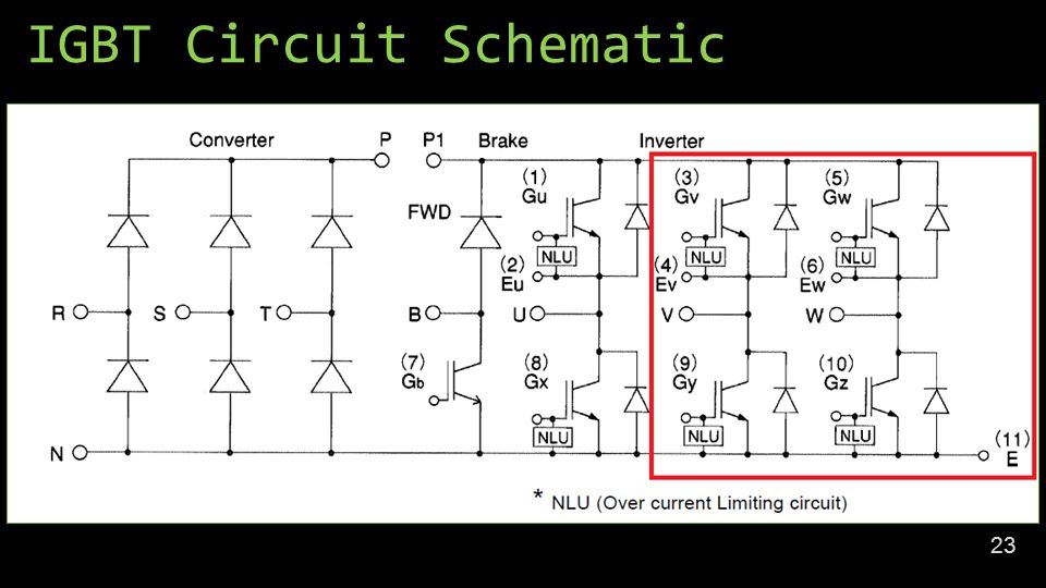 IGBT Circuit Schematic 23