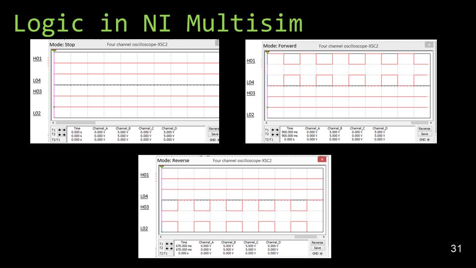 Logic in NI Multisim 31