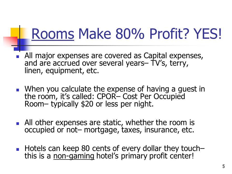 MPI – SEC Essentials of Hotel Revenue: Income, Expenses, P&L