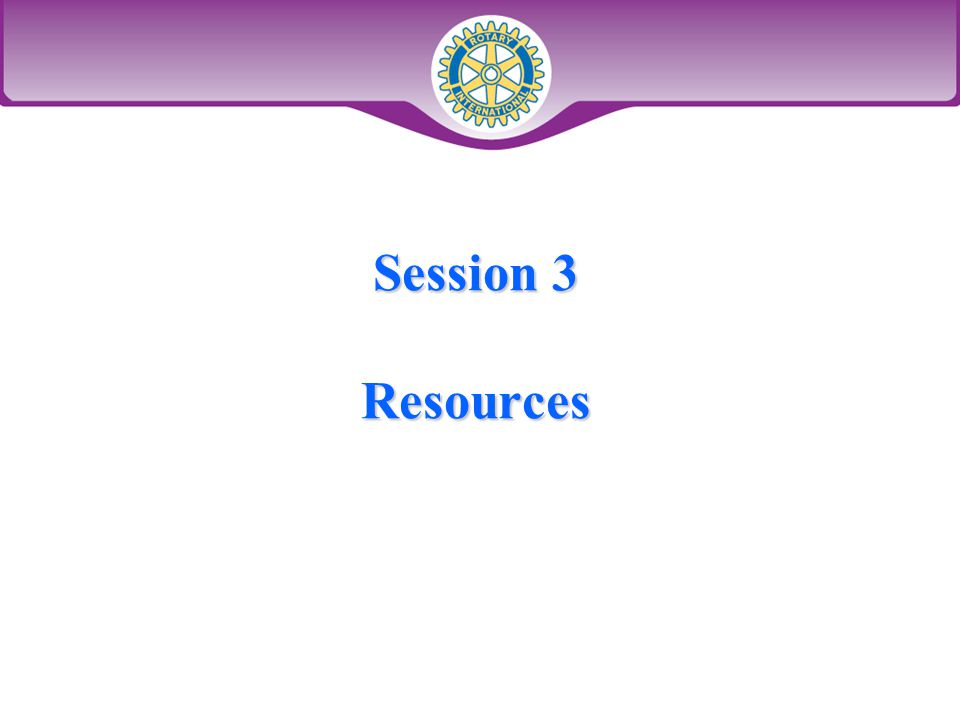 Session 3 Resources