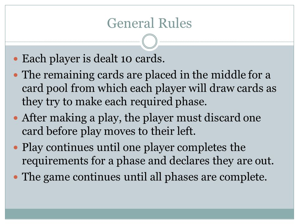 How To Play Phase 10 Card Game Cardss