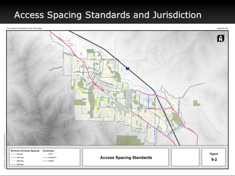 Access Spacing Standards and Jurisdiction