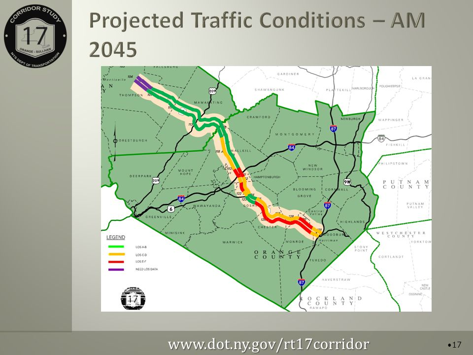 Projected Traffic Conditions – AM