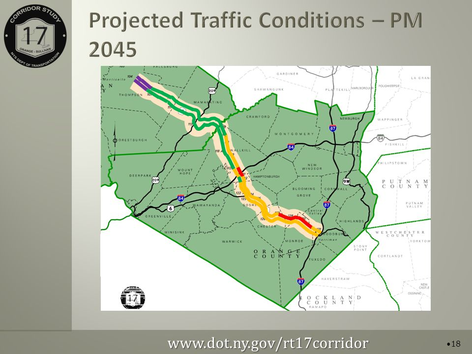 Projected Traffic Conditions – PM