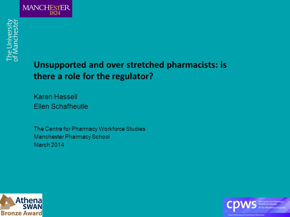 Unsupported and over stretched pharmacists: is there a role for the regulator.