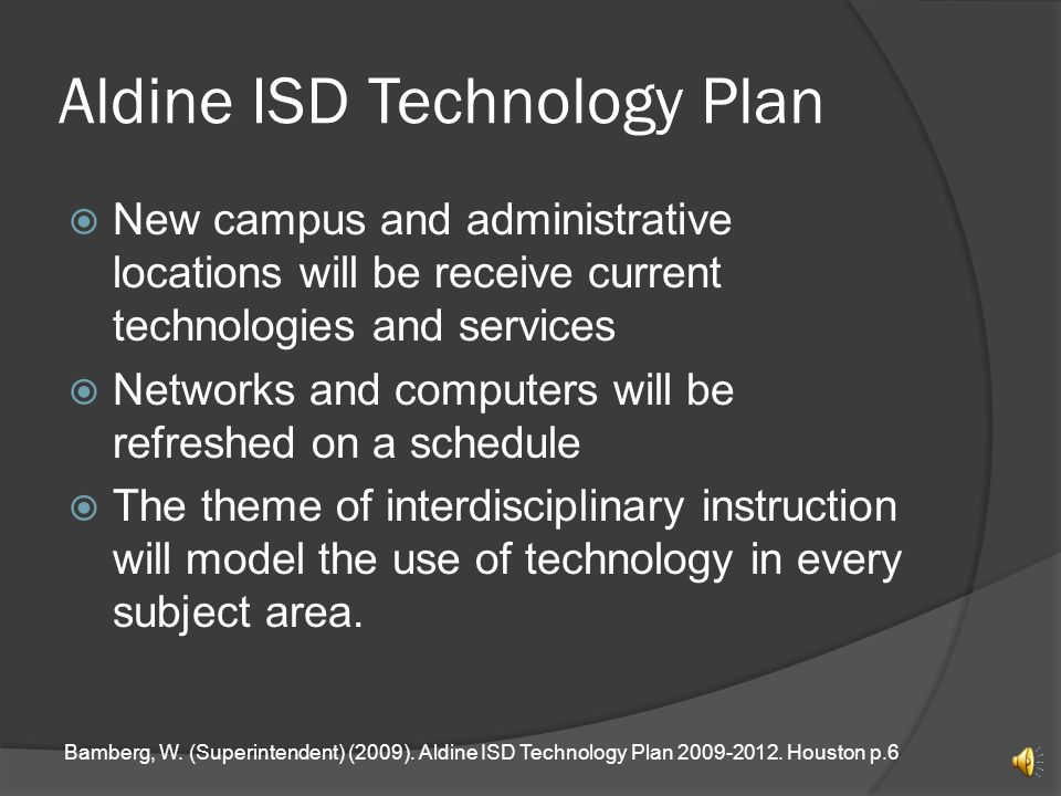 Aldine Isd Calendar.The Effects Of The National Technology Plan On Aldine Isd William