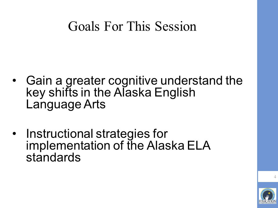 Teaching And Learning Support Institute Alaska Englishlanguage Arts