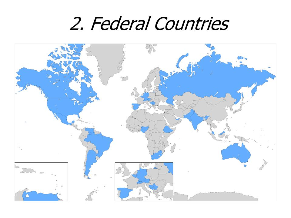 2. Federal Countries