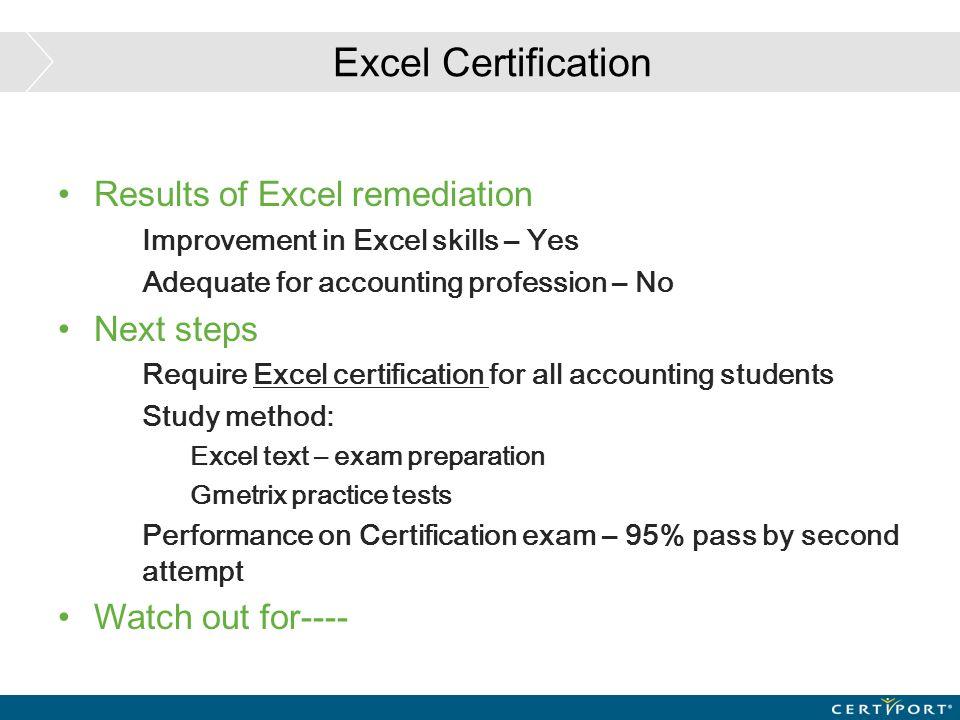 Excel Certification At Seattle University Senior Lecturer Seattle
