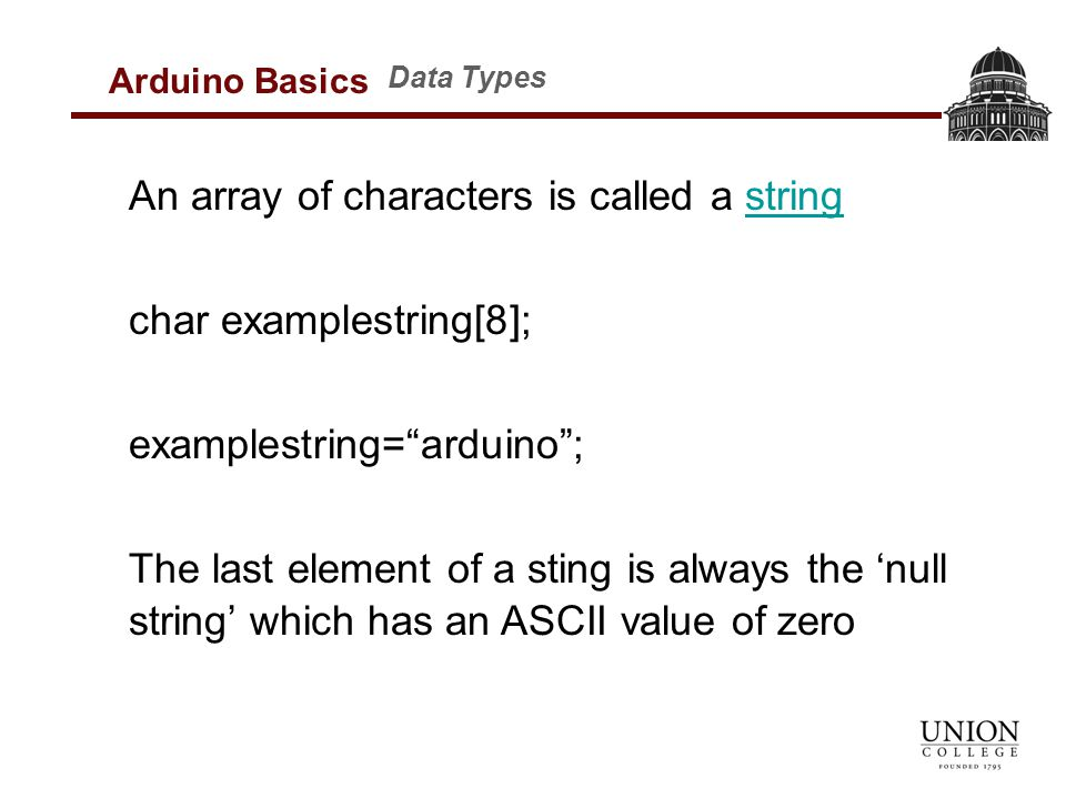 Introduction to Arduino Programming January MER-421