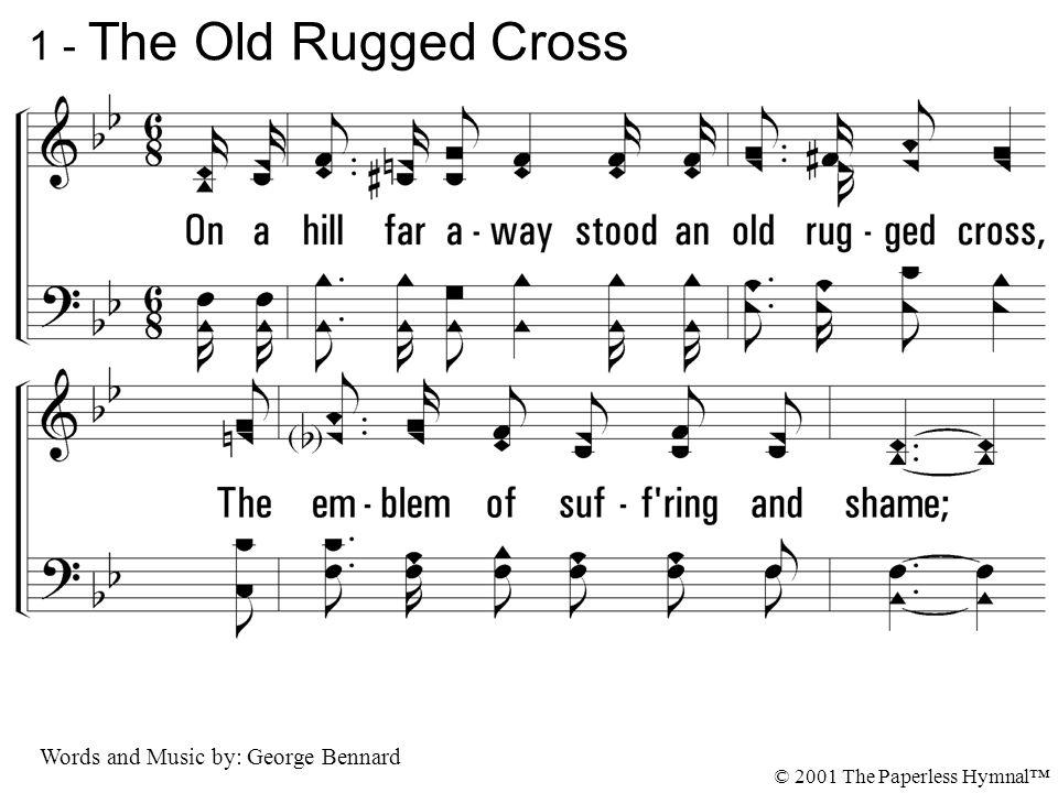 The Old Rugged Cross Hymn Written By