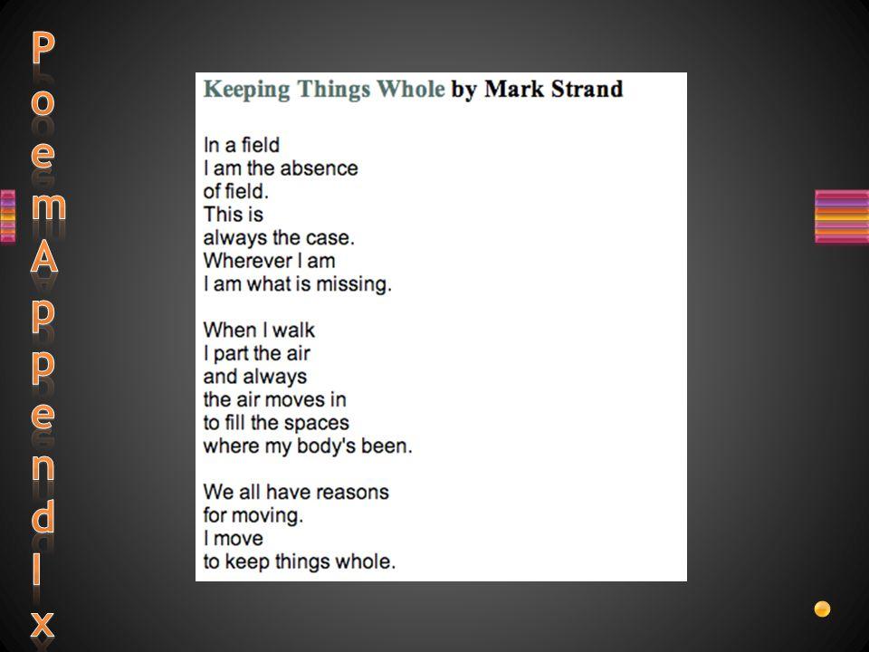 keeping things whole poem