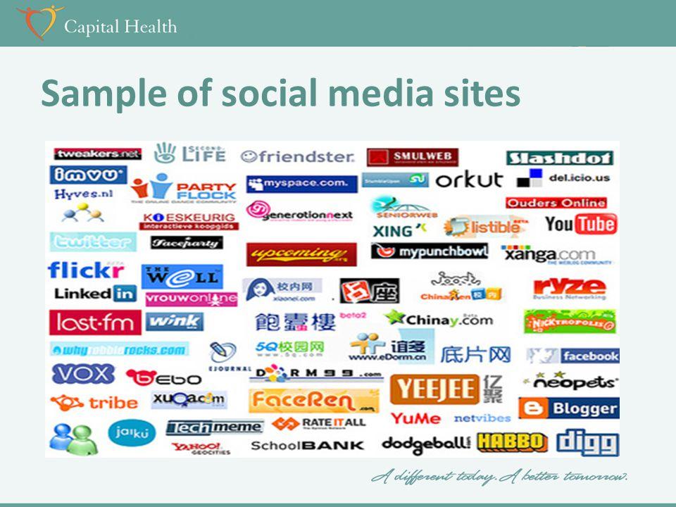 Social Media & The Healthcare Context May 9, 2013