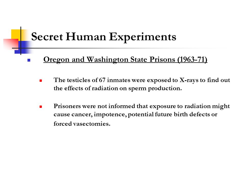 oregon-state-prison-study-of-radiation-and-sperm