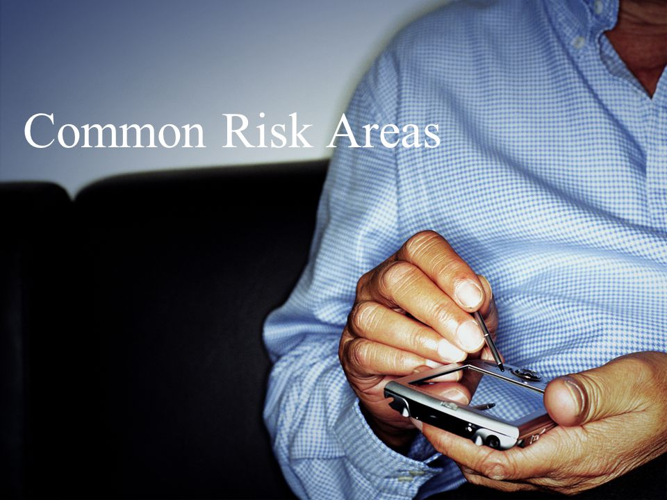 Common Risk Areas