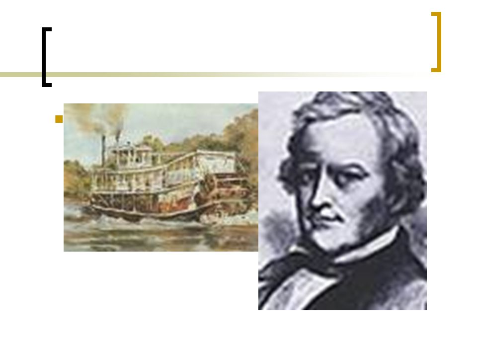 Shreve's double decker steamboat and a paddle wheel in the back 1816 it went UP the Mississippi River!!!