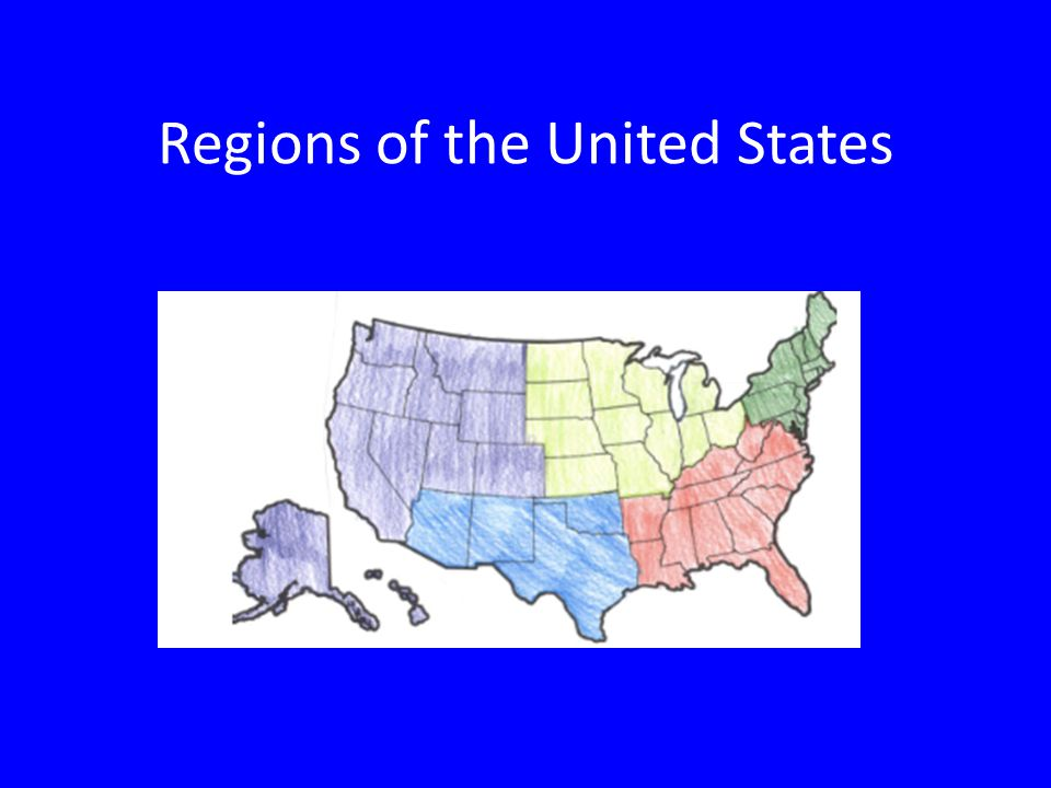 1 regions of the united states