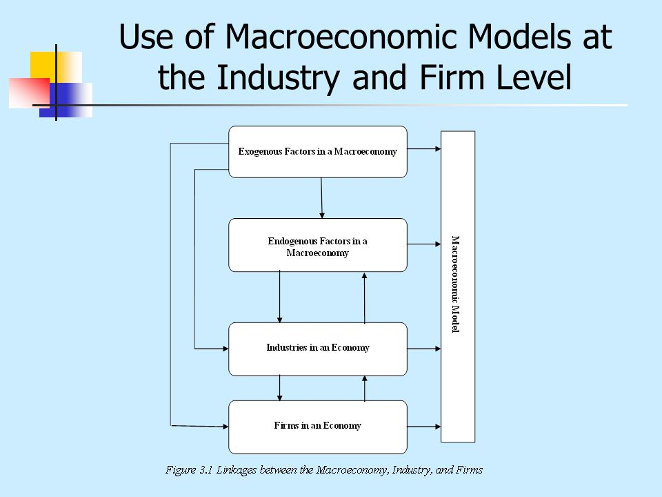 Use of Macroeconomic Models at the Industry and Firm Level