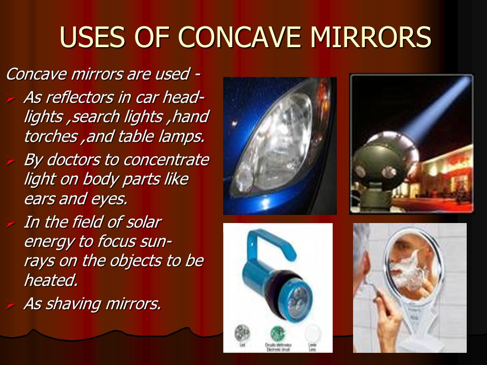 Concave Mirror Subject Science Class X Concave Mirror Subject