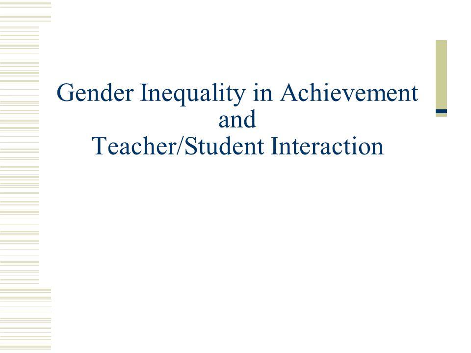 teacher student interaction