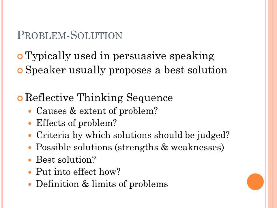 persuasive speaking definition