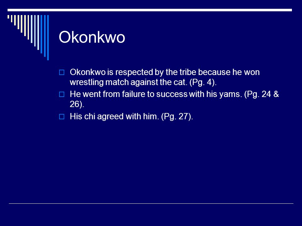 okonkwo tragic hero