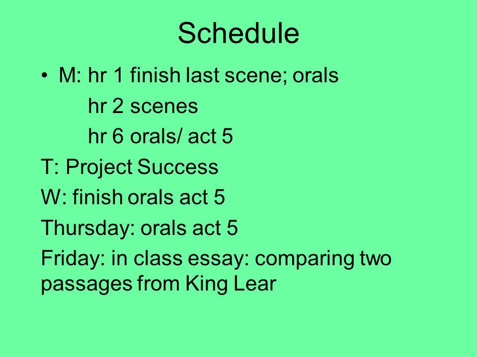 Two Orals M
