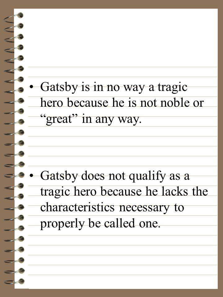 gatsby characteristics