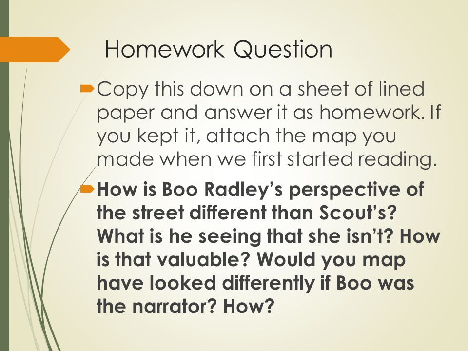 The Question Isnt How Much Homework Its >> Homework Question Copy This Down On A Sheet Of Lined Paper And