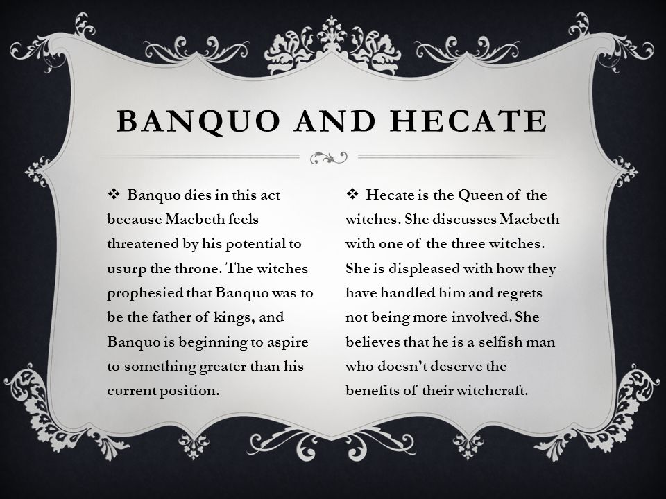 how does banquo die