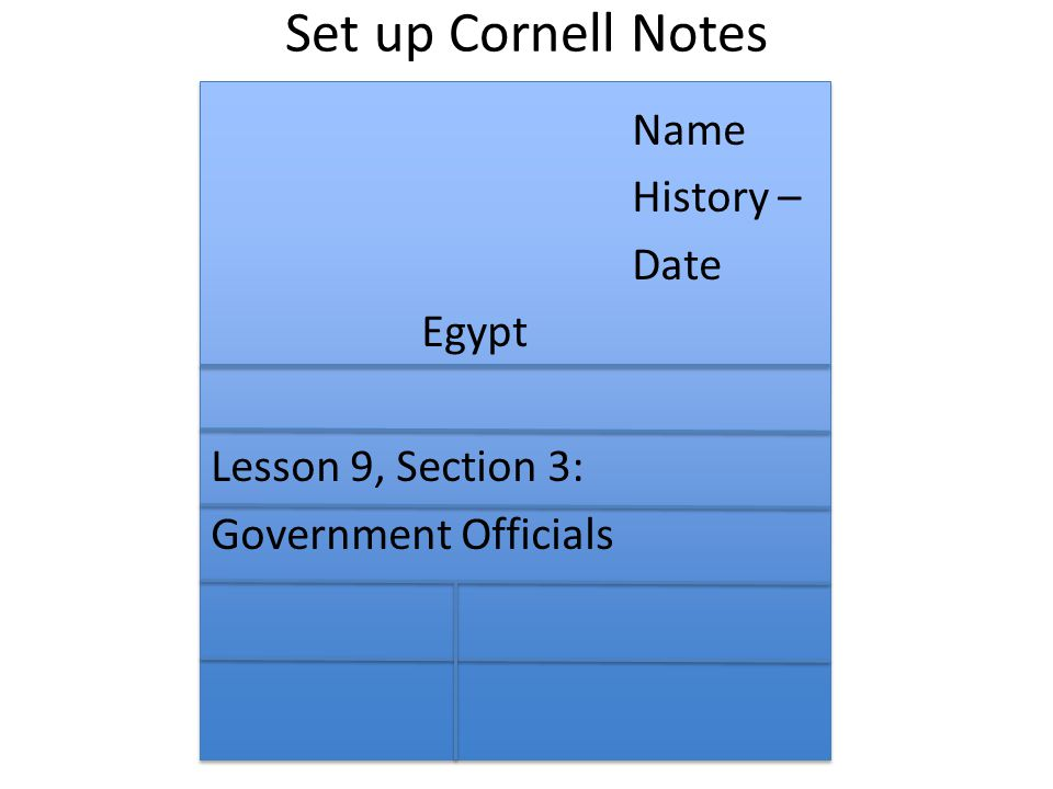 Take Out Cornell Notes Open Book To Page 94 Or TCI To