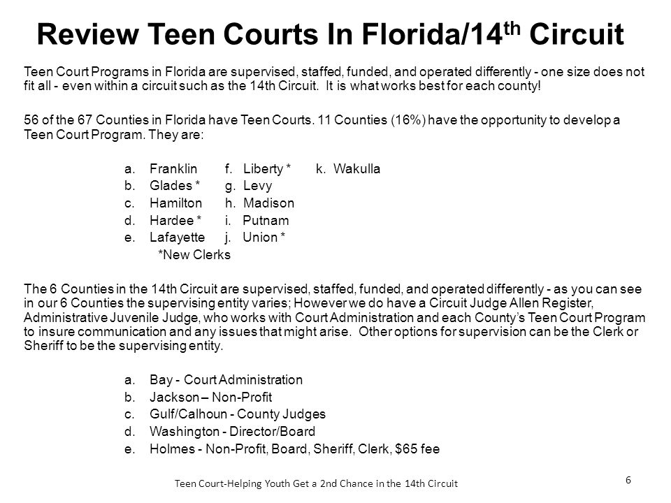 Teen court works most recent remarkable, the