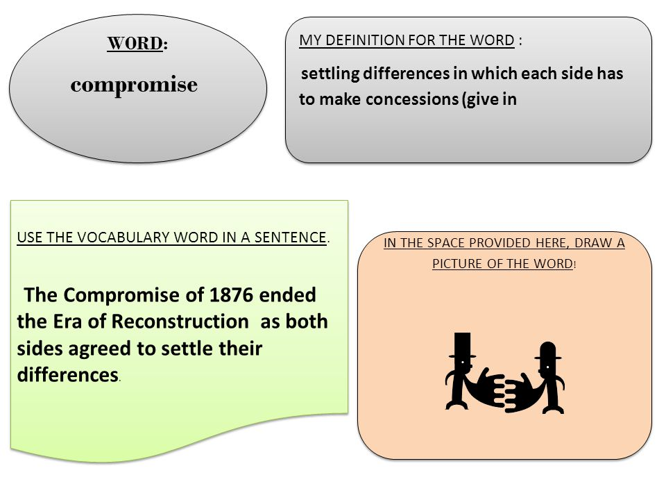 use the word compromise in a sentence