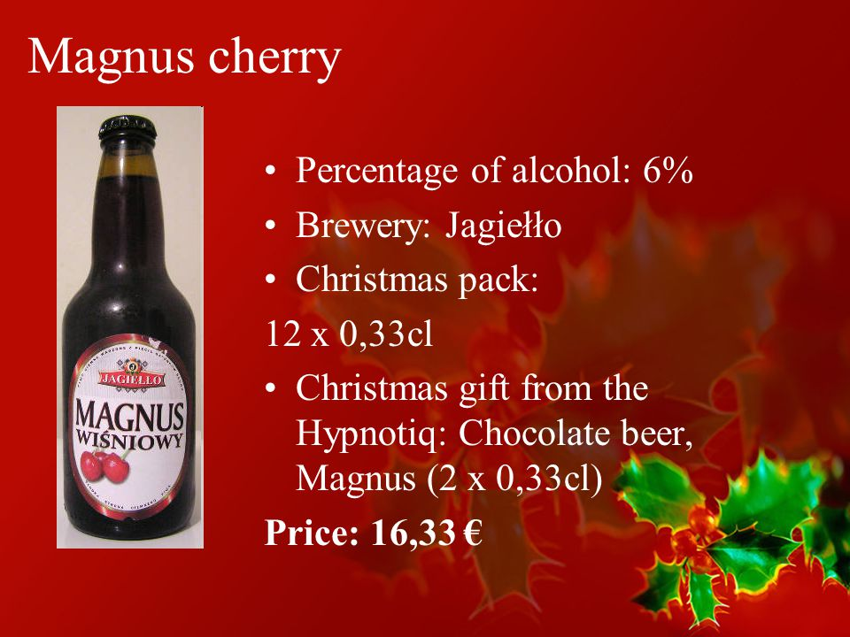 Special Christmas Offer Polish Beer Magnus Desperados Porter Ppt Download