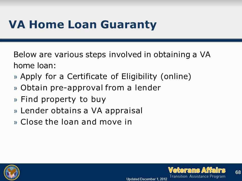 Tap Briefing On Va Benefits Briefing For Transitioning