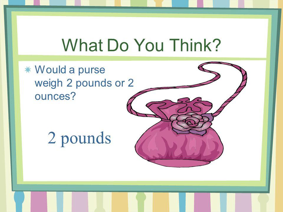 5 16 Ounces 1 Pound