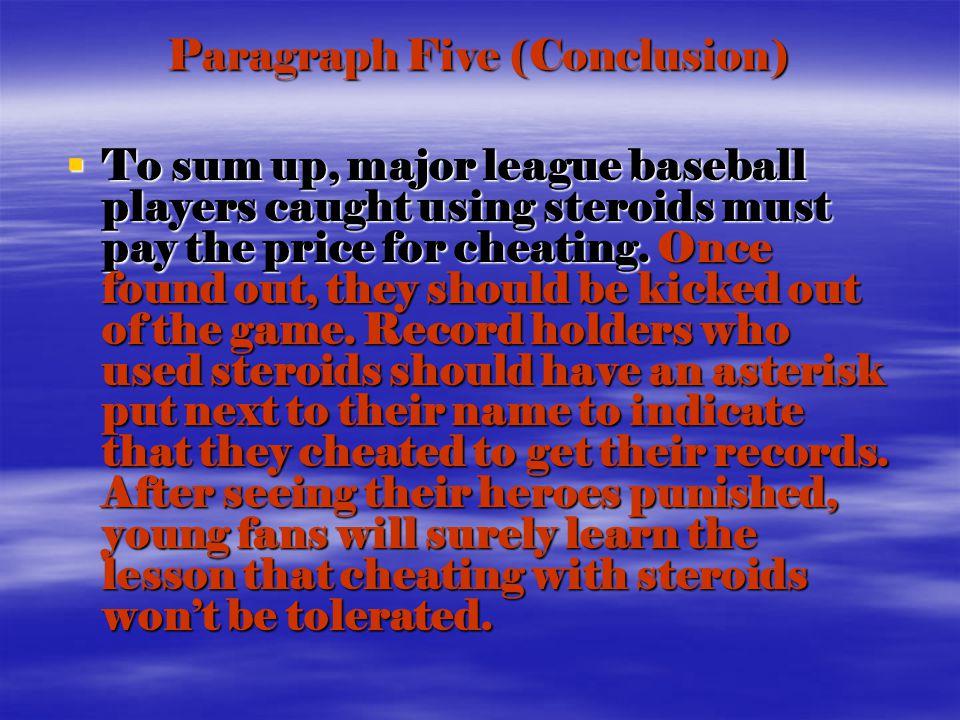 baseball paragraph