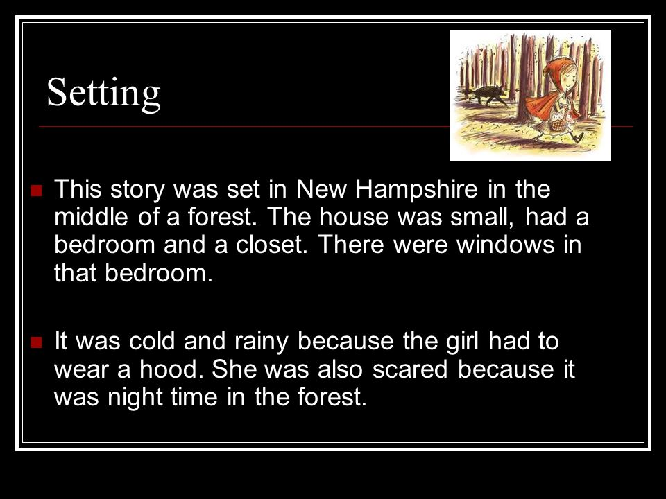 Story Map Little Red Riding Hood By Mrs German Ppt Download